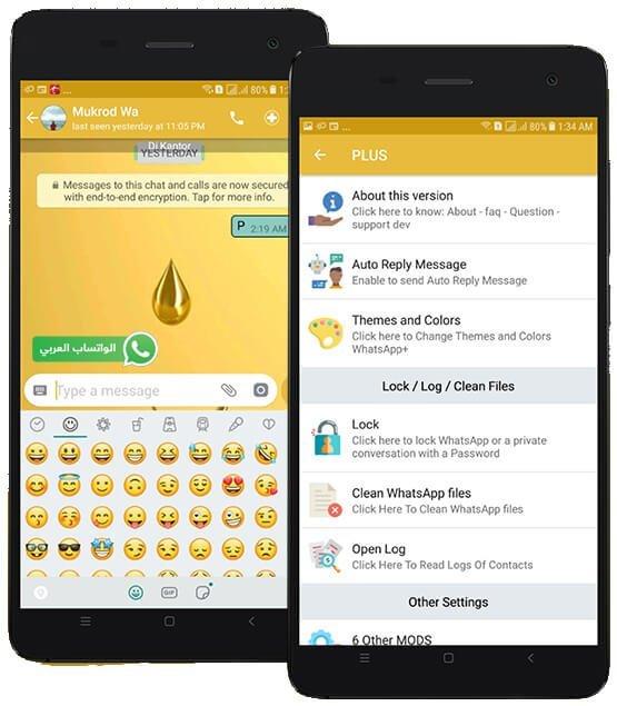 تحميل الواتساب الذهبي النسخة الجديدة حصريا على موقع الواتساب العربي